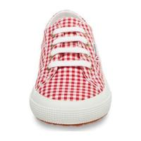 Classic Canvas Lace Up, Red Gingham
