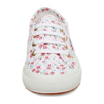 Classic Canvas Lace Up, Red Floral