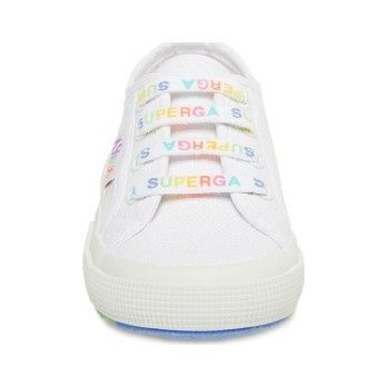 Classic Canvas Lace Up, White Multi