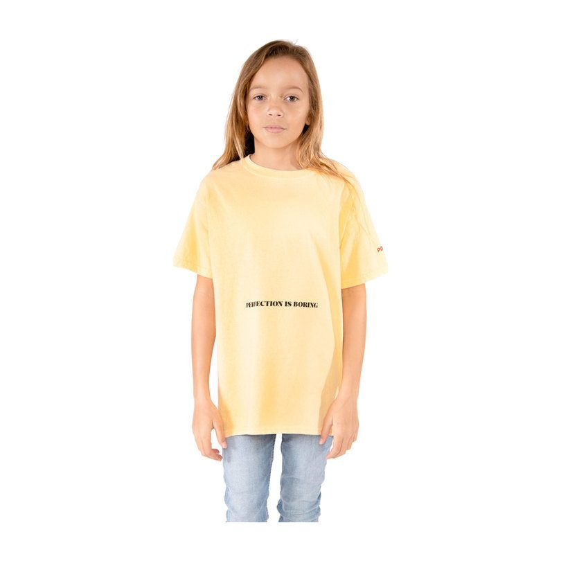Perfection T-Shirt, Yellow