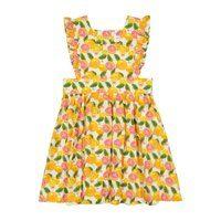 Pinny Dress, Citrus Print
