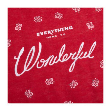 "Th ""Wonderful"" Bandana"