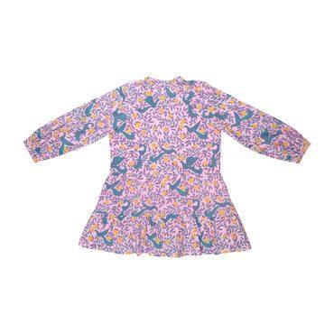 *Exclusive* Bazaar Dress, Peony Deph Bird