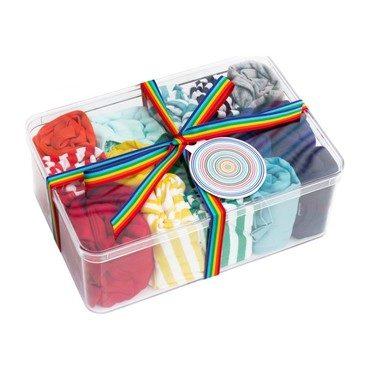 Baby's First Starter Set, Rainbow Stripe Mix