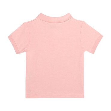 Hudson Baby Polo, Pale Rose