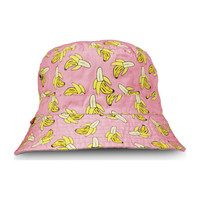 Pink Banana Bucket Hat