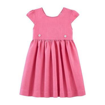 Petit Bateau Child Short Sleeved Dress Cupcake Pink