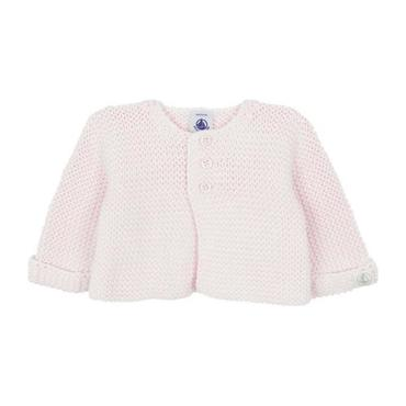Petit Bateau Baby Knitted Cardigan Pink