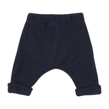 Petit Bateau Baby Piqué Sweatpants Navy Blue