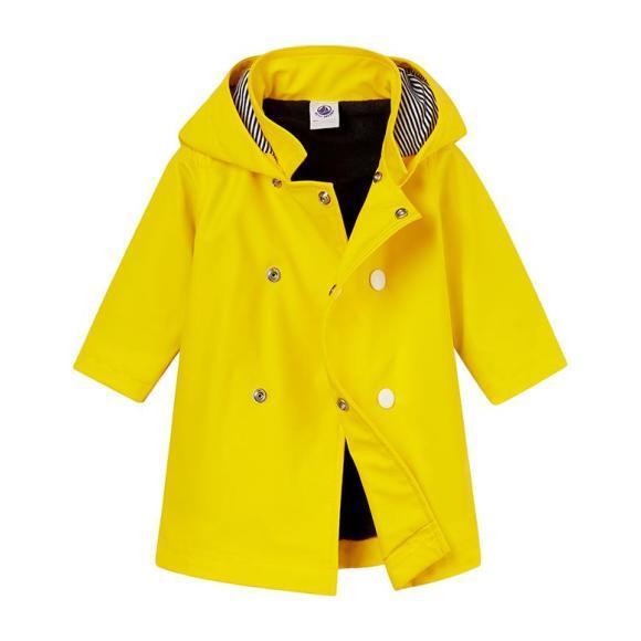 Petit Bateau Baby Raincoat Yellow
