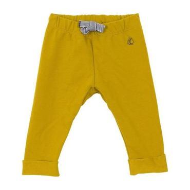 Petit Bateau Baby Sweatpants Mustard Yellow