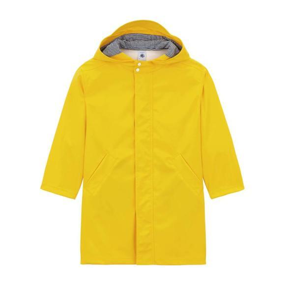 Petit Bateau Child Long Raincoat Yellow