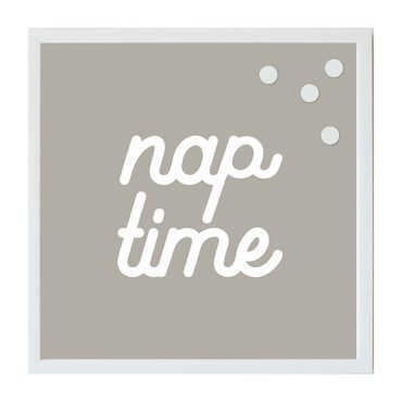 Nap Time Magnet Board, Neutral