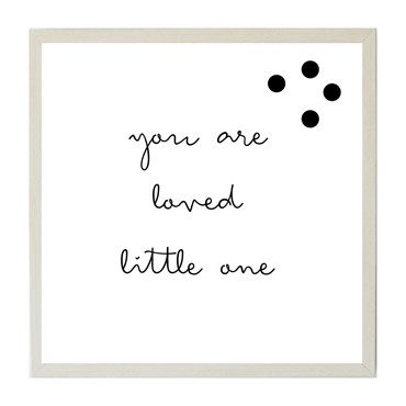 You are Loved Little One Magnet Board