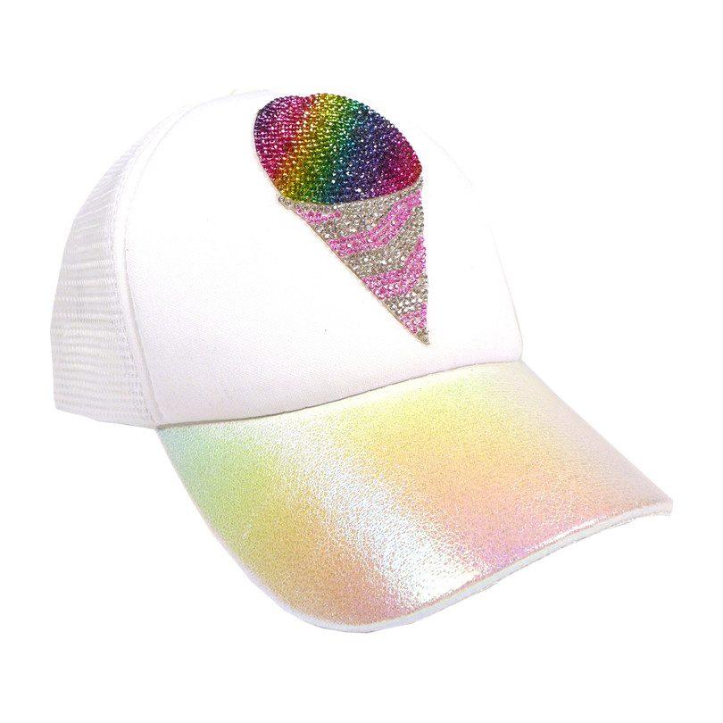 47a531e34 Snow Cone Toddler Trucker Hat