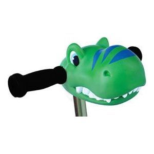 Scooter Head, Green Dino