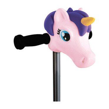Scooter Head, Pink Unicorn