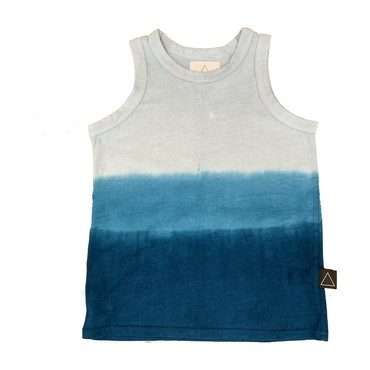 Ombre Tank, Blue