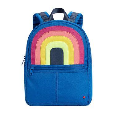 Color Block Mini Kane Backpack, Rainbow