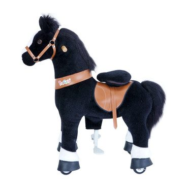 Black Horse with White Hoof, Medium
