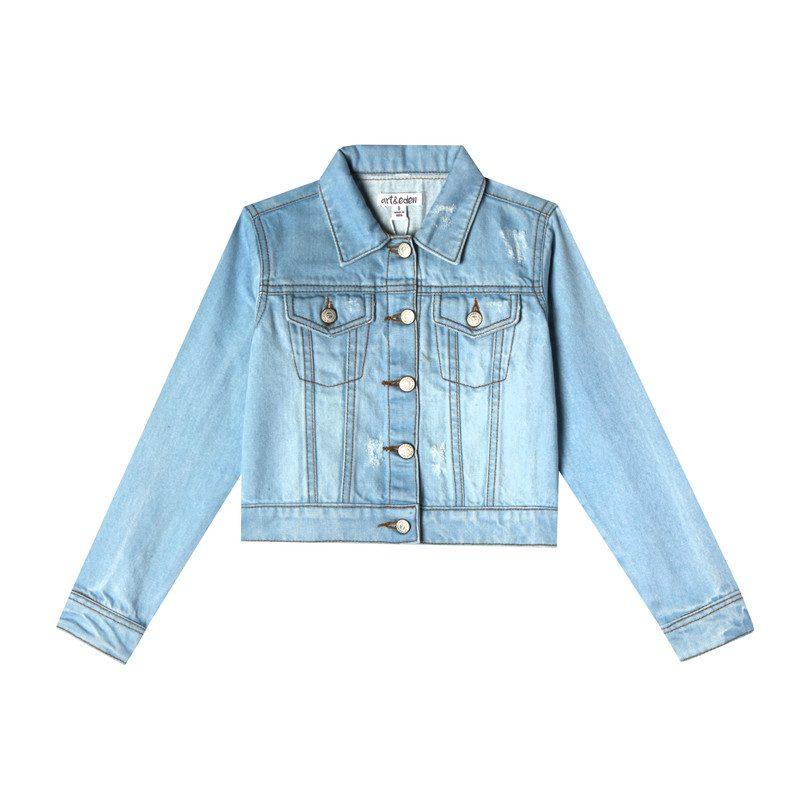 Mini Nalia Jacket, Blue Wash