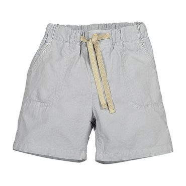 Stitched Shorts, High Rise Grey