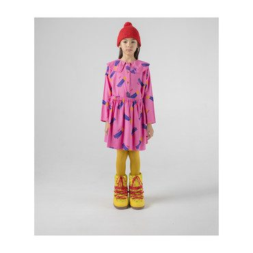 A Star Called Home Flared Skirt, Pink