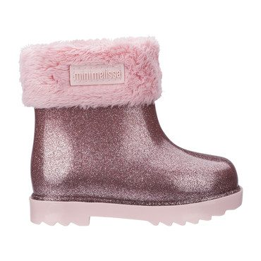 Baby Winter Boot, Pink Glitter
