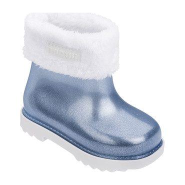 Baby Winter Boot, Blue Glitter