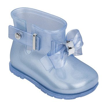 Baby Sugar Rain Princess Boot, Light Blue