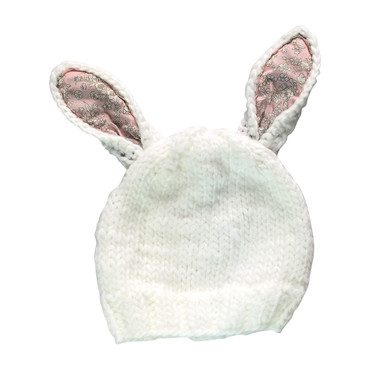 Bailey Bunny with Liberty Ears, White and Pink