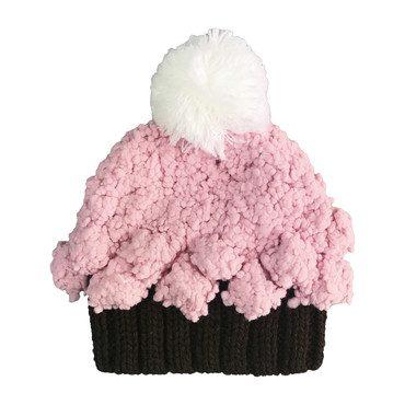 Bella Cupcake, Brown and Pink