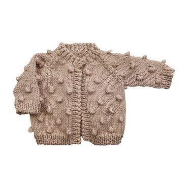 Dot Sweater, Pink
