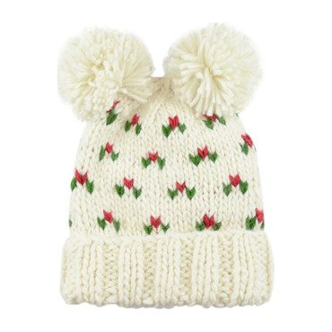 Kendall Holly Hat, Cream