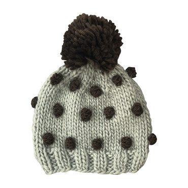 Popcorn Hat, Blue and Green