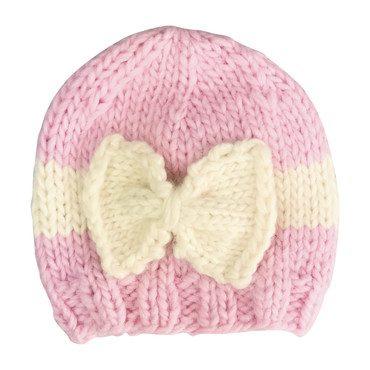 Sabrina Bow, Pink and Cream