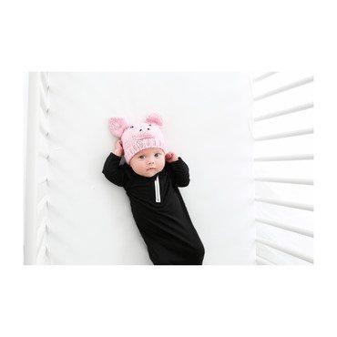 Sammie Pig Hat, Pink