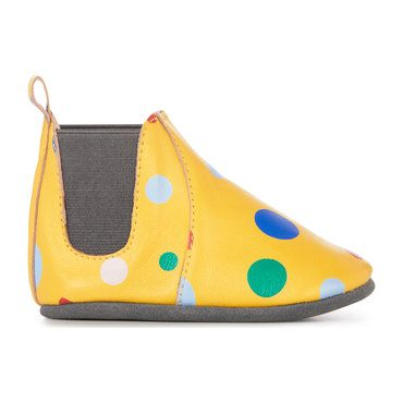 Ruby Circus Spot Bootie, Mustard