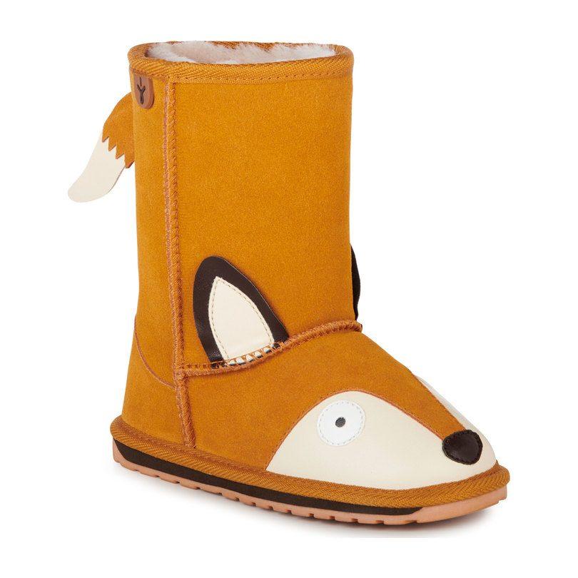 Fox Boot, Burnt Orange