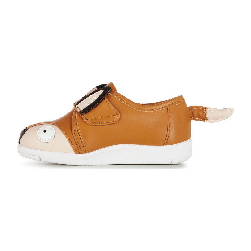Fox Sneaker, Burnt Orange