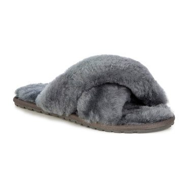 Women's Mayberry Slipper, Charcoal