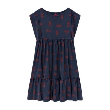 Robin Dress, Blue Circles