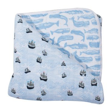 Snuggle Blanket, High Seas + Moby