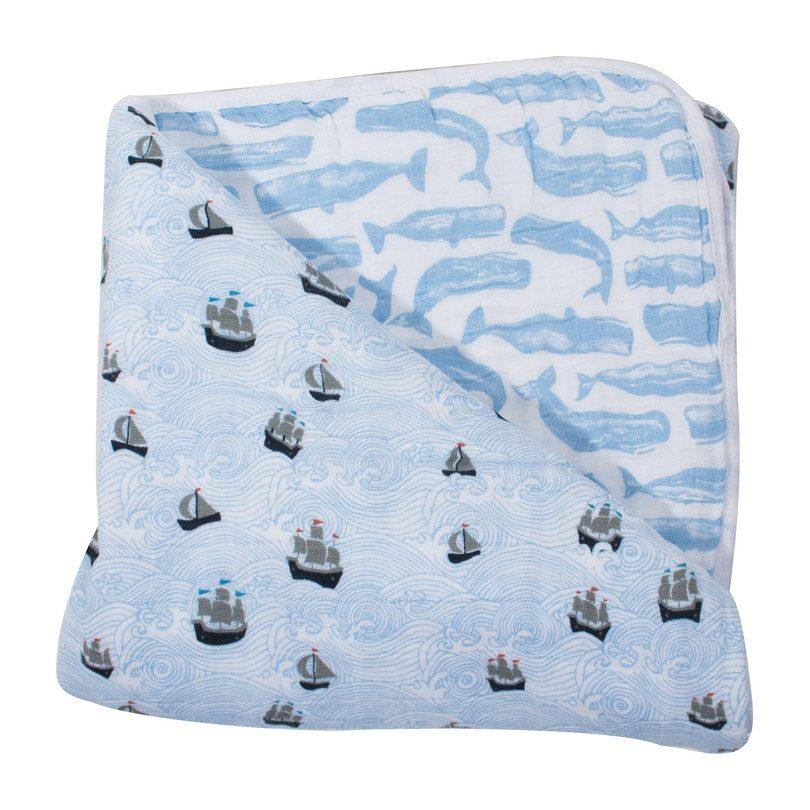 Snuggle Blanket, High Seas + Moby