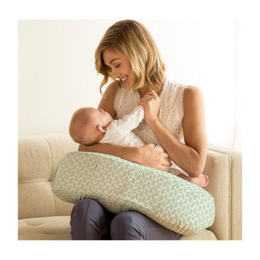 Nursing Pillow Slipcover, Agave