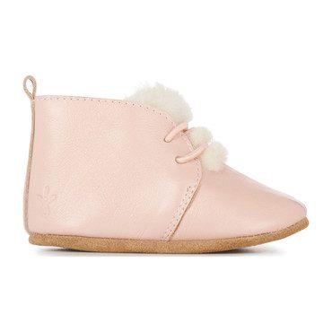 Poppy Bootie, Dusty Pink
