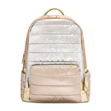Puffy Backpack, Rose Mix