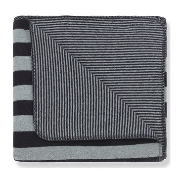 Innsbruck Blanket, Blue Stripe