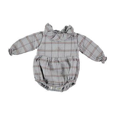 Baby Checkered Collar Body