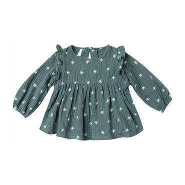 Star Piper Blouse, Spruce